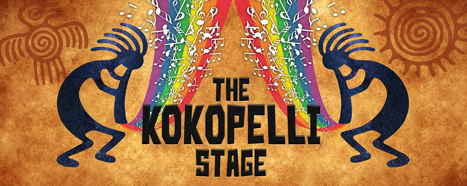 The Kokopelli Stage